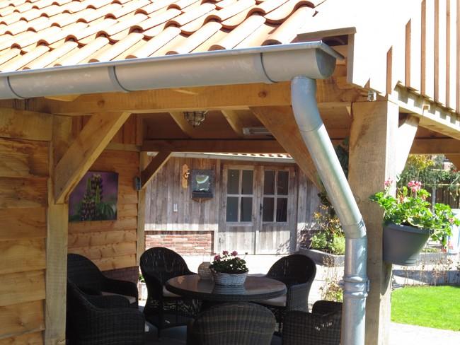 Eikenhouten bijgebouwen, poolhouse, tuinhuizen, verandau0026#39;s of ...