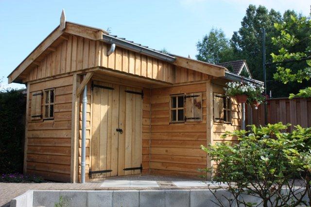 houten tuinhuisjes