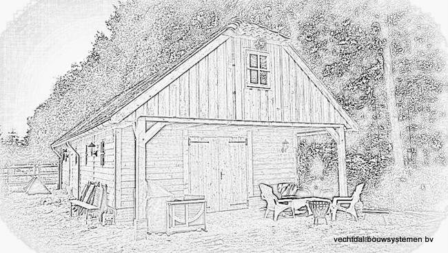 1-Nostalgie_houten_schuur_(3) - Nostalgisch houten schuren op maat gemaakt.