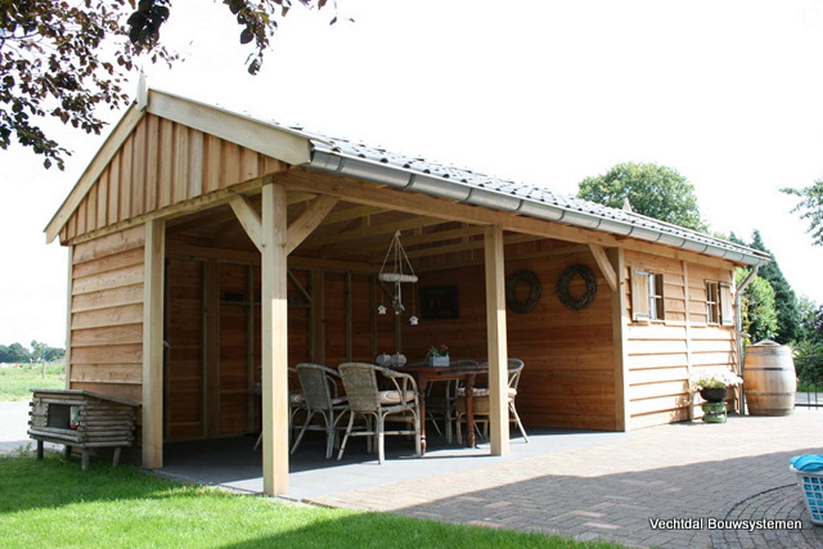 exclusief_tuinhuis_6 - Geniet dit voorjaar optimaal van het gezonde buitenleven met een stijlvolle houten tuinhuis.