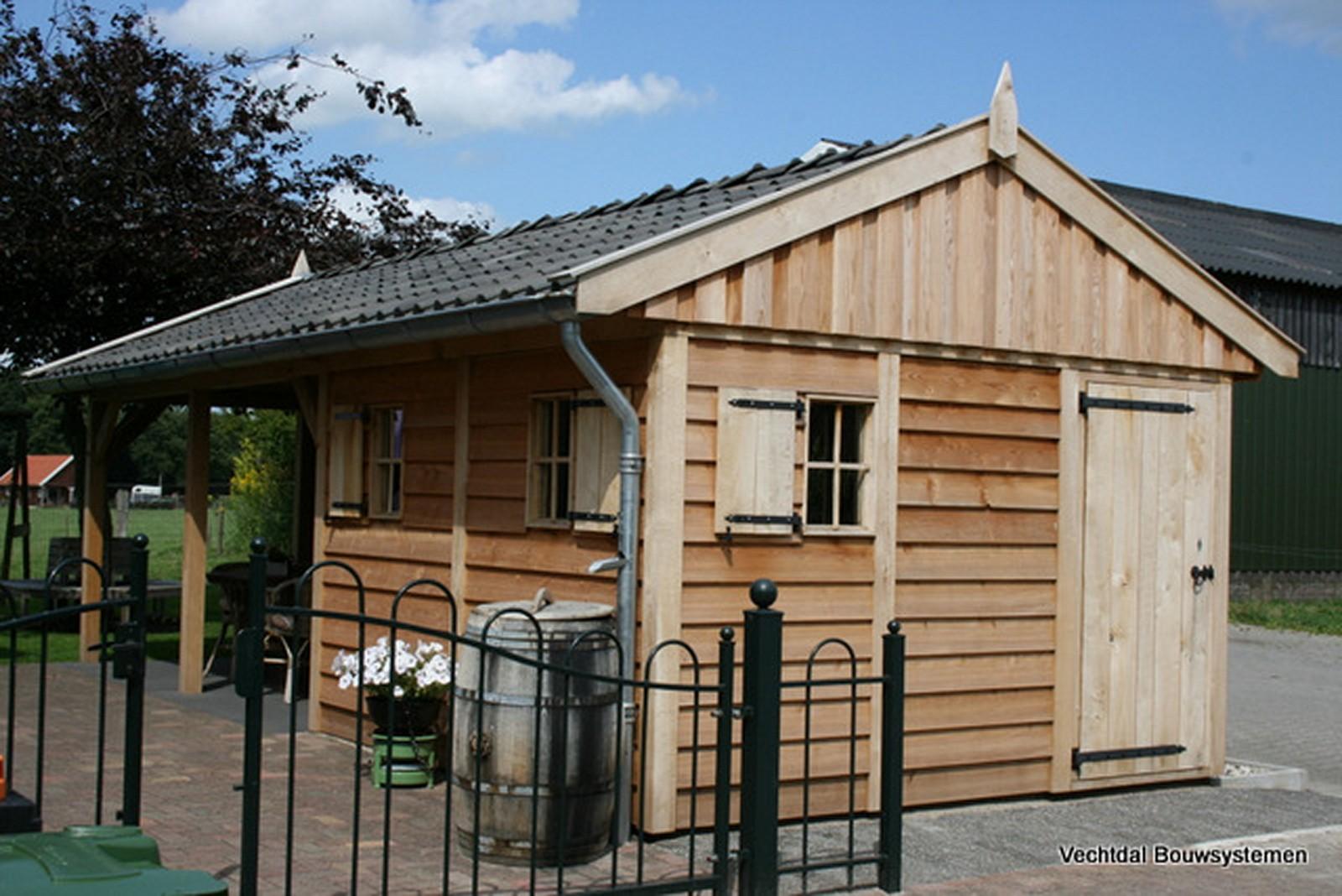 exclusieve_tuinhuizen - Geniet dit voorjaar optimaal van het gezonde buitenleven met een stijlvolle houten tuinhuis.