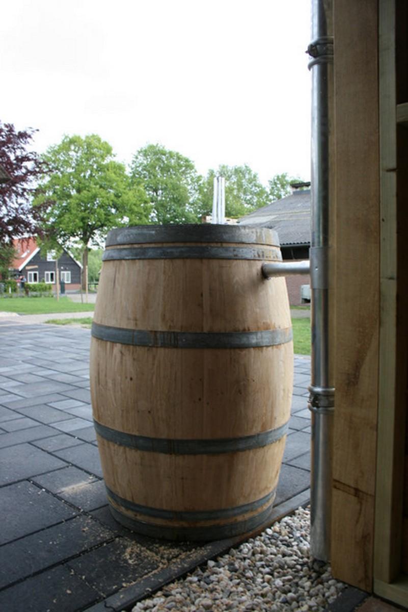 duurzame_buitenkamer - Authentiek eiken bijgebouw met tuinkamer op maat gemaakt.