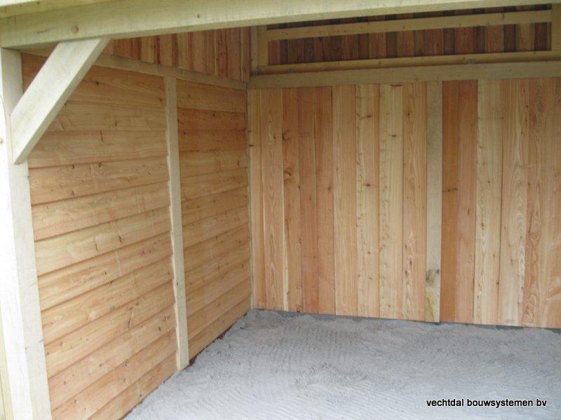 houten_tuinhuis_met_tuinkamer_groendak_(13) - Exclusief eikenhouten tuinhuis met tuinkamer opgeleverd in Heerenveen.