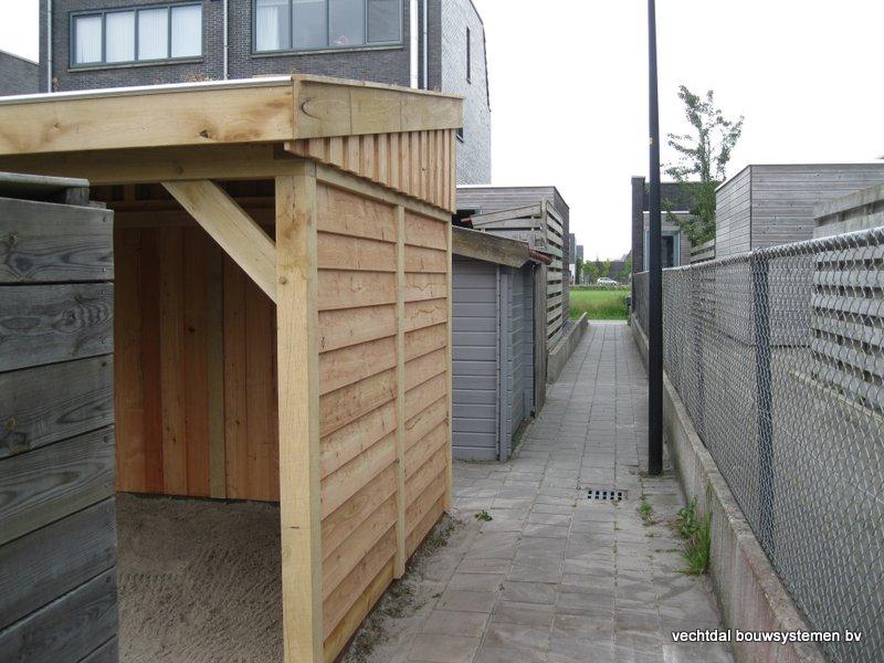 houten_tuinhuis_met_tuinkamer_groendak_(14) - Exclusief eikenhouten tuinhuis met tuinkamer opgeleverd in Heerenveen.