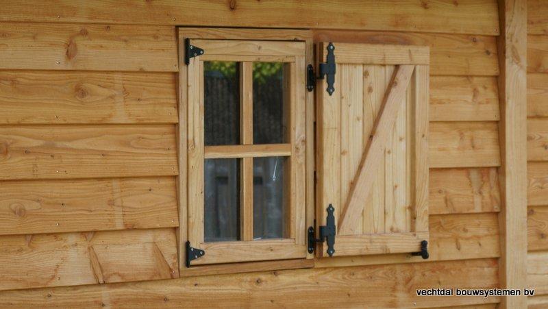 Houten_Atelier__(4) - Landelijk houten Atelier geplaatst in Den Haag.