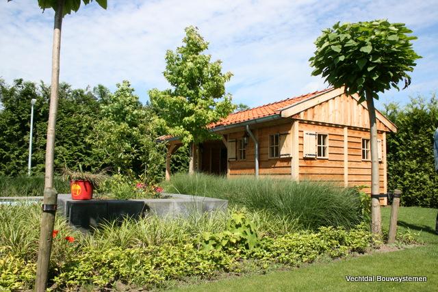 poolhouse_3 - Sfeervol genieten het buitenleven en de zomer temperaturen.
