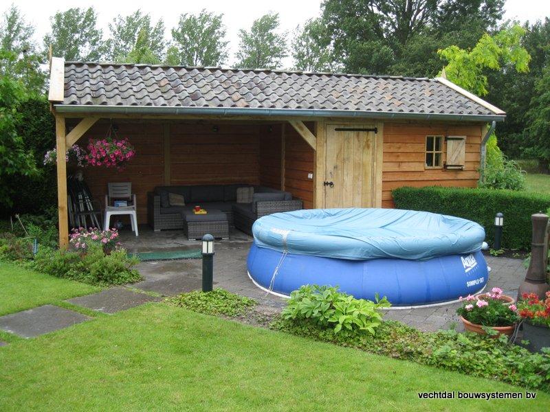 eiken_tuinhuis_met_tuinkamer_Andijk_(2) - Stijlvolle eikenhouten tuinhuis met tuinkamer opgeleverd in Andijk. (Noord Holland)
