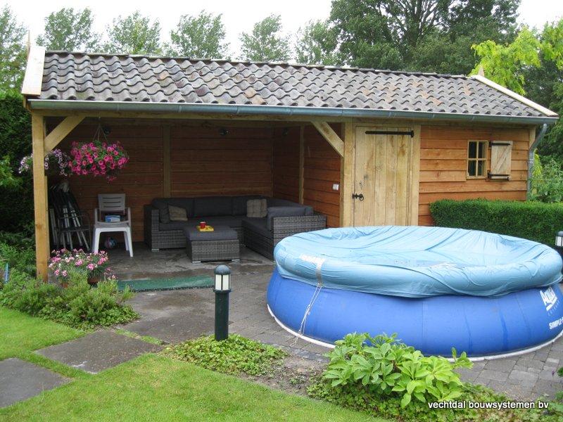 eiken_tuinhuis_met_tuinkamer_Andijk_(3) - Stijlvolle eikenhouten tuinhuis met tuinkamer opgeleverd in Andijk. (Noord Holland)