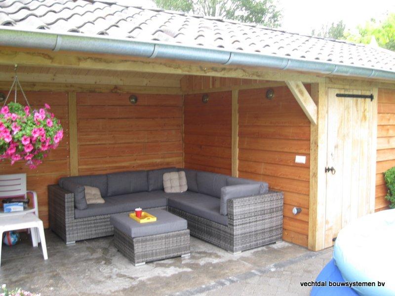 eiken_tuinhuis_met_tuinkamer_Andijk_(4) - Stijlvolle eikenhouten tuinhuis met tuinkamer opgeleverd in Andijk. (Noord Holland)