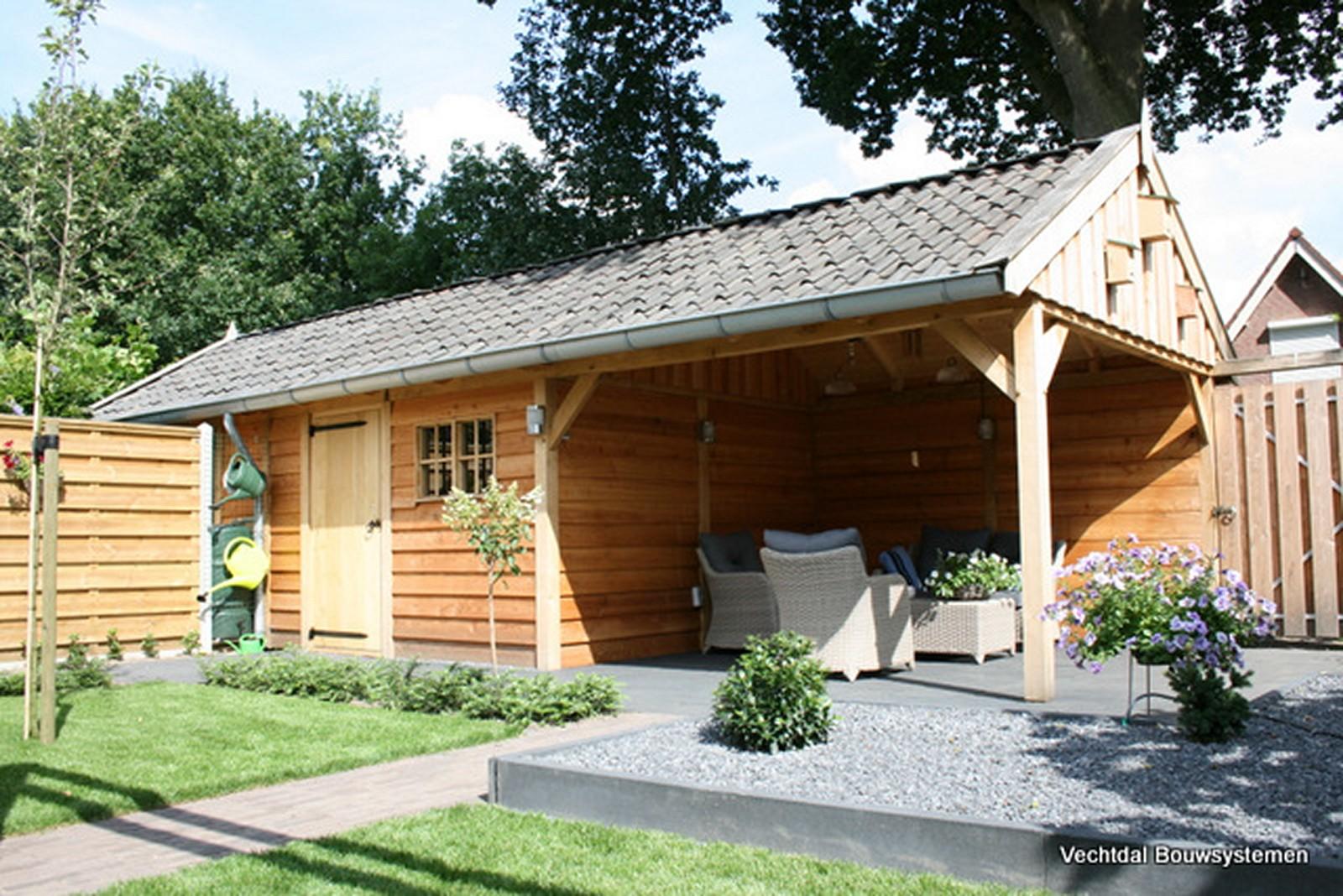 eiken_tuinhuis_1 - Ontdek de charme van een eiken bijgebouw.
