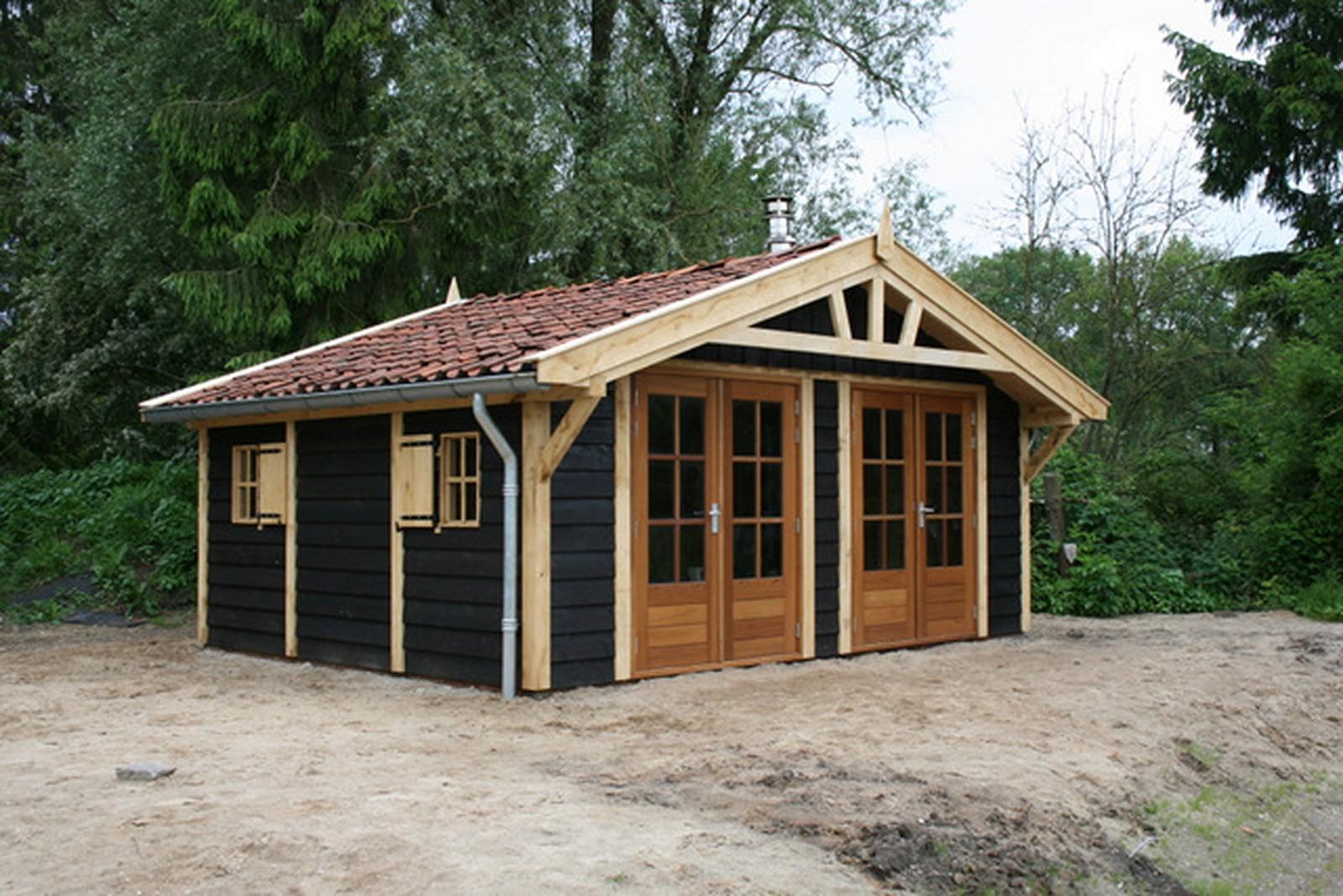 Robuuste_tuinhuis - Houten tuinpaviljoen 'Quendalure'