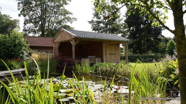 eiken_houten_tuinkamer_(1) - Landelijk eikenhouten tuinkamer opgeleverd in Twello.