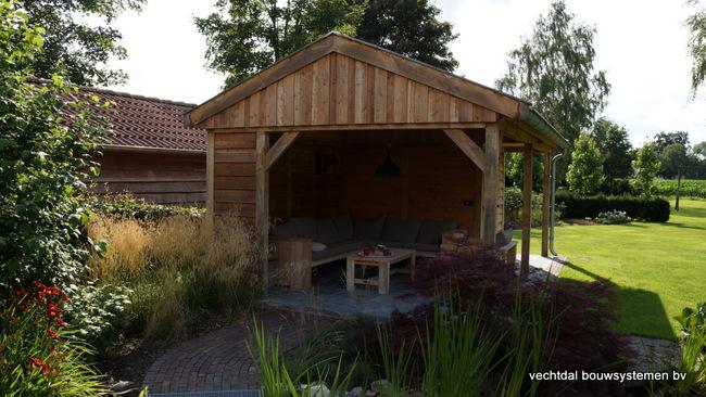 eiken_houten_tuinkamer_(11) - Landelijk eikenhouten tuinkamer opgeleverd in Twello.