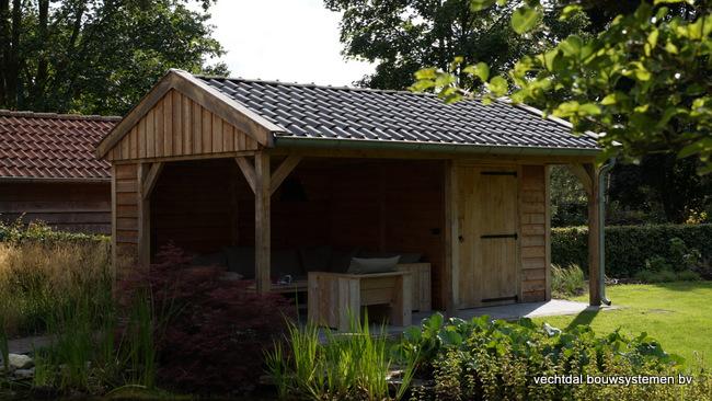 eiken_houten_tuinkamer_(2) - Landelijk eikenhouten tuinkamer opgeleverd in Twello.