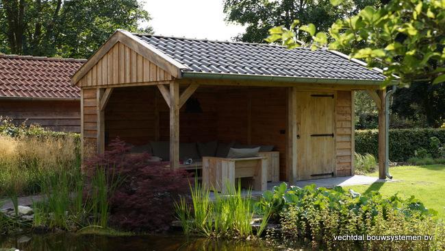 eiken_houten_tuinkamer_(3) - Landelijk eikenhouten tuinkamer opgeleverd in Twello.