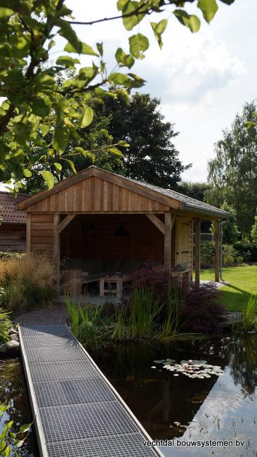 eiken_houten_tuinkamer_(4) - Landelijk eikenhouten tuinkamer opgeleverd in Twello.