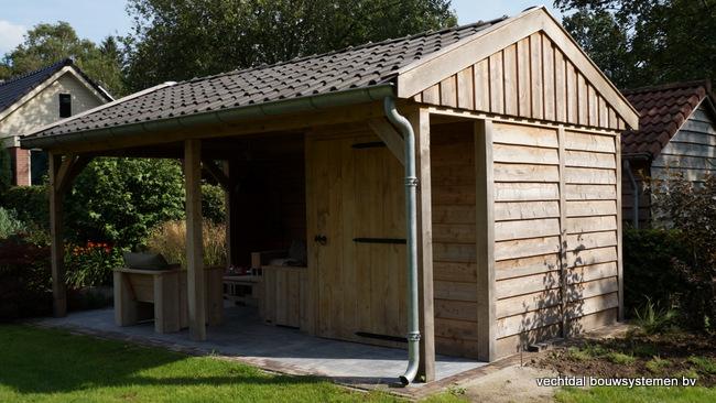 eiken_houten_tuinkamer_(7) - Landelijk eikenhouten tuinkamer opgeleverd in Twello.