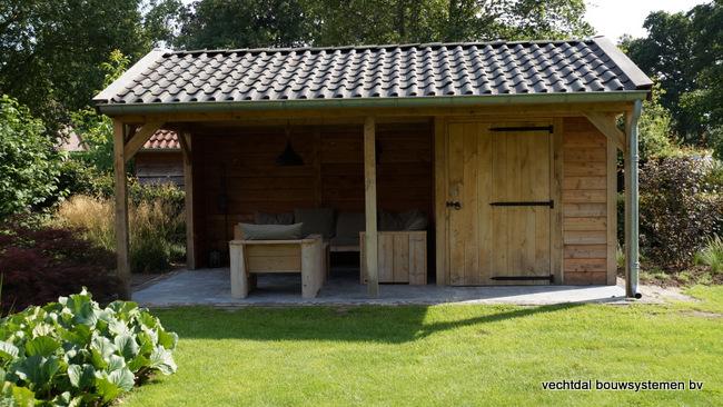 eiken_houten_tuinkamer_(8) - Landelijk eikenhouten tuinkamer opgeleverd in Twello.