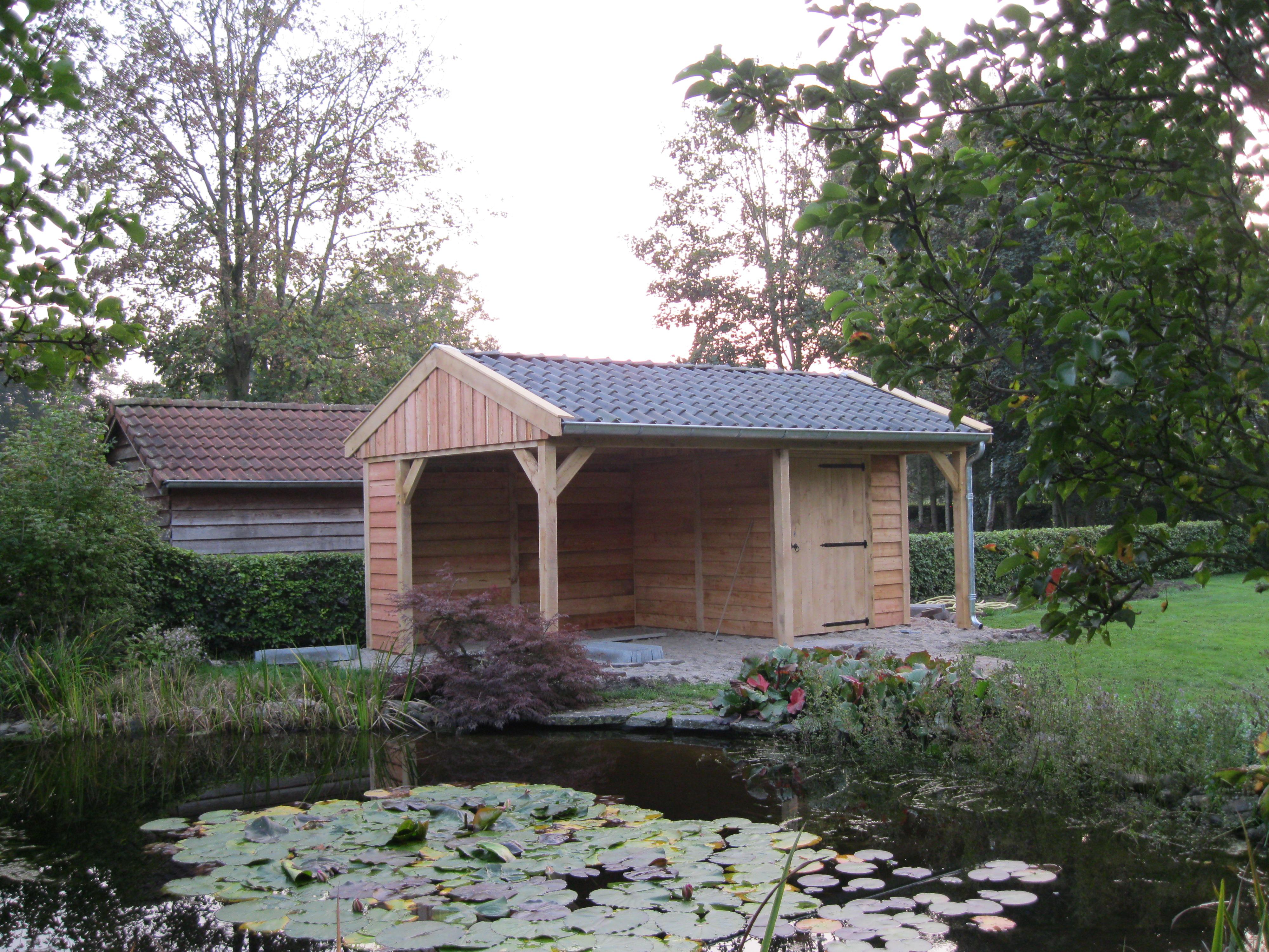tuinkamer_(1) - Authentiek eikenhouten bijgebouw met tuinkamer geplaatst in Twello!
