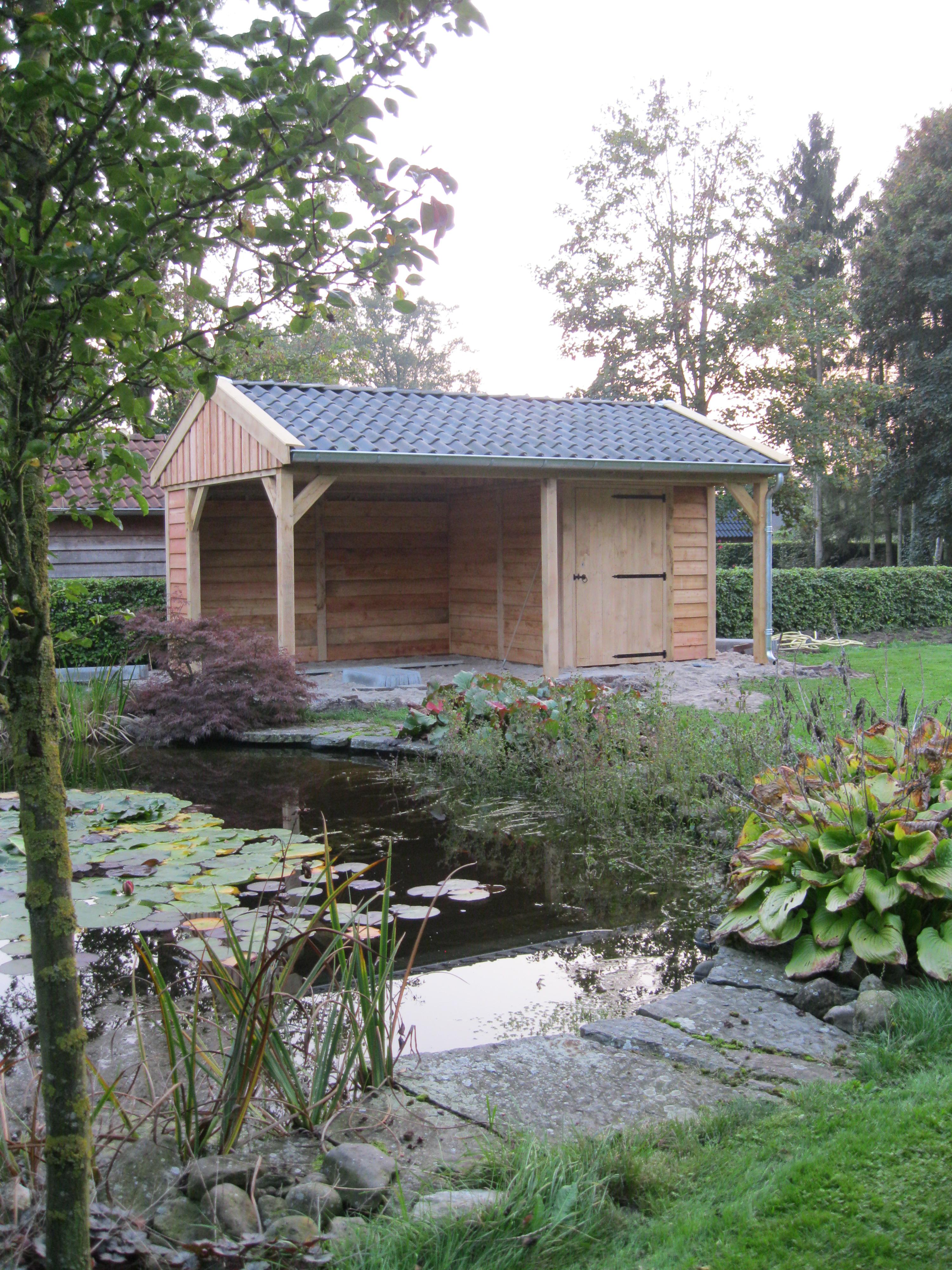 tuinkamer_(2) - Authentiek eikenhouten bijgebouw met tuinkamer geplaatst in Twello!