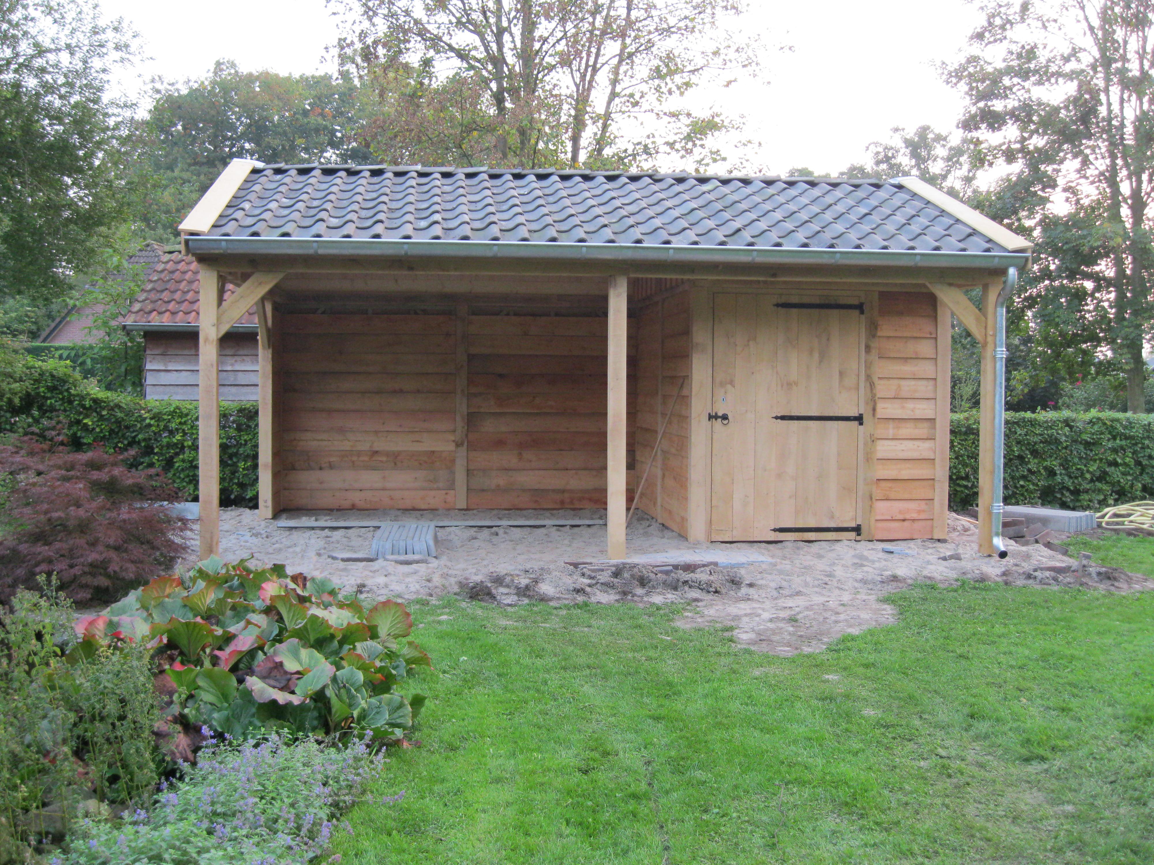 tuinkamer_(3) - Authentiek eikenhouten bijgebouw met tuinkamer geplaatst in Twello!