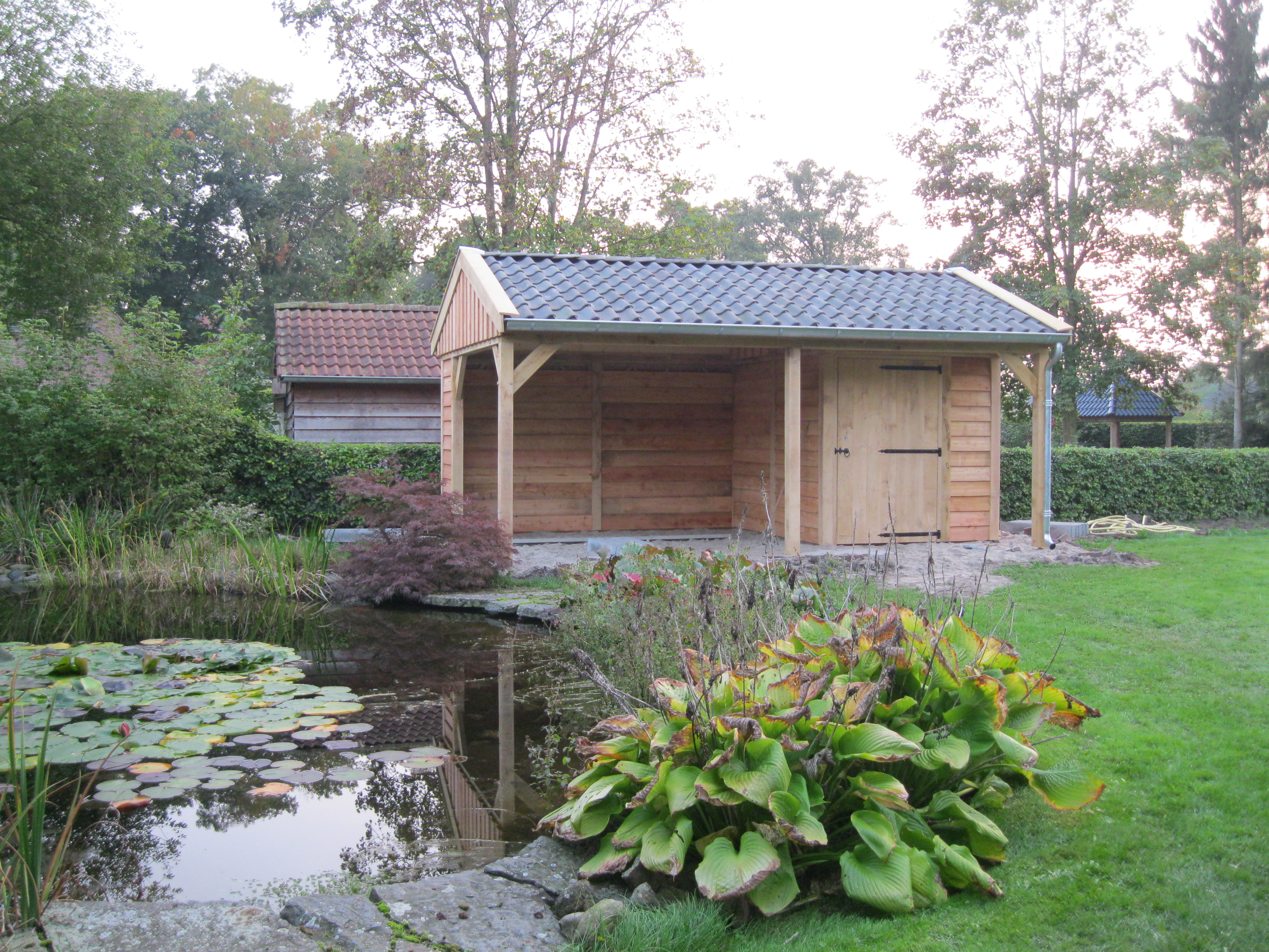 tuinkamer_(4) - Authentiek eikenhouten bijgebouw met tuinkamer geplaatst in Twello!