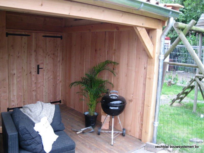 4-Houten_garage_met_veranda_(4) - Houten garage met veranda opgeleverd in Almelo
