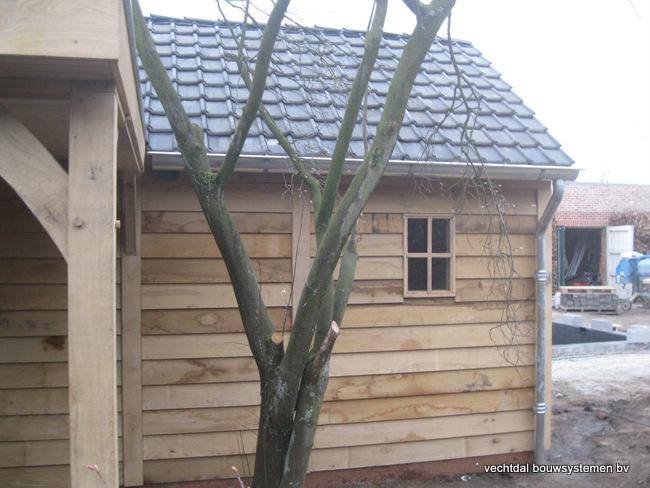 Eiken_poolhouse_belgie_(12) - Exclusief eikenhouten bijgebouw opgeleverd in Balen.