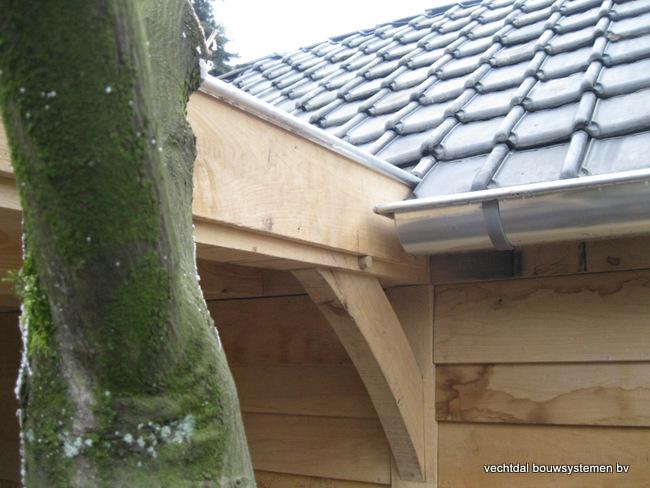 Eiken_poolhouse_belgie_(13) - Exclusief eikenhouten bijgebouw opgeleverd in Balen.