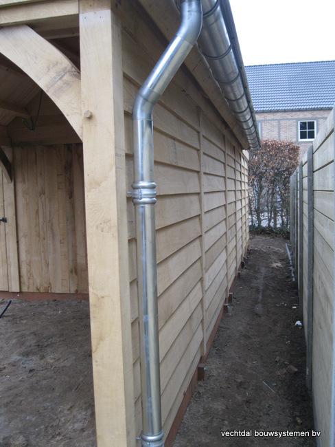 Eiken_poolhouse_belgie_(6) - Exclusief eikenhouten bijgebouw opgeleverd in Balen.