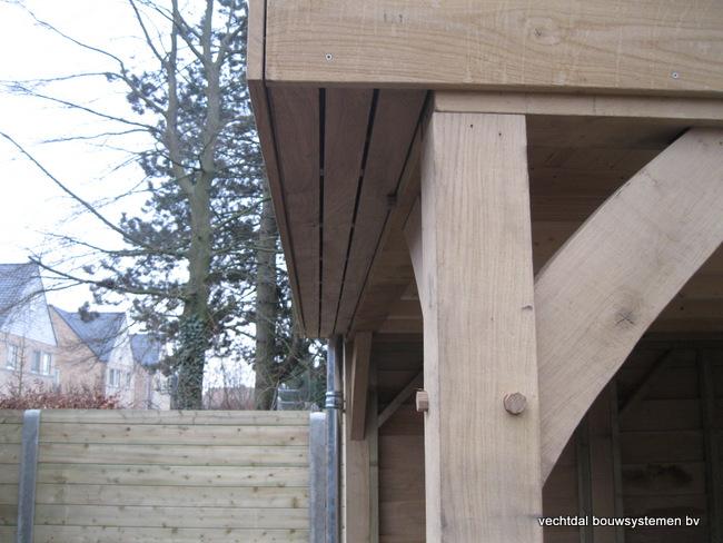 Eiken_poolhouse_belgie_(9) - Exclusief eikenhouten bijgebouw opgeleverd in Balen.