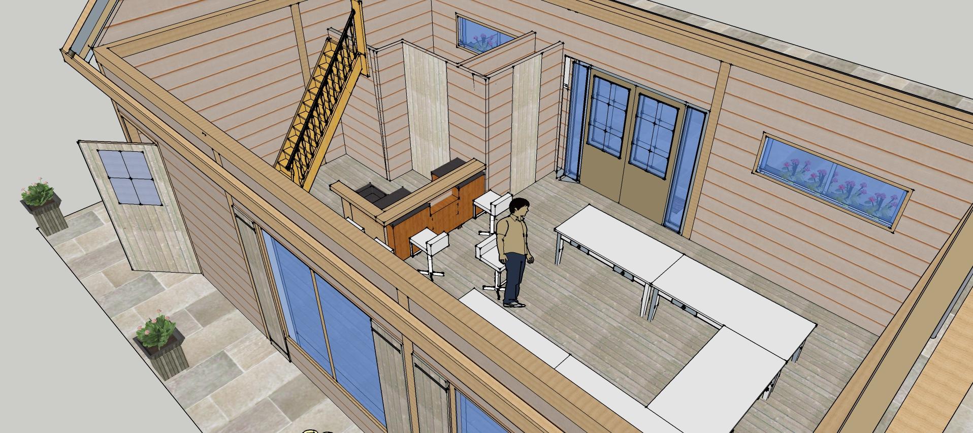 Aangepast_ontwerp_Binnenzijde_Dinteloord_1-2 - Prachtige larikshouten bijgebouw-Trainingsruimte in opdracht gekregen.