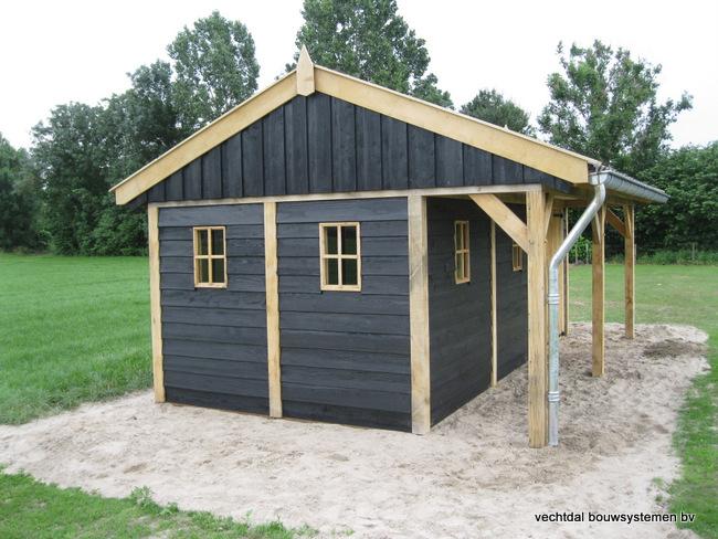 6-houten_kapschuur__met_luifel_(6) - Eiken kapschuur met luifel