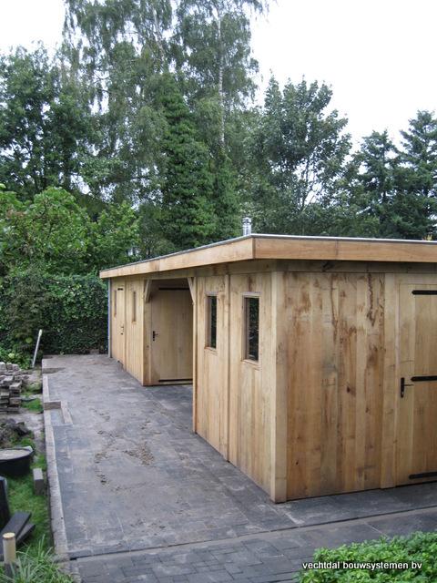 Eikenhouten_bijgebouw_met_sauna_(19) - Eikenhouten bijgebouw met veranda en sauna.