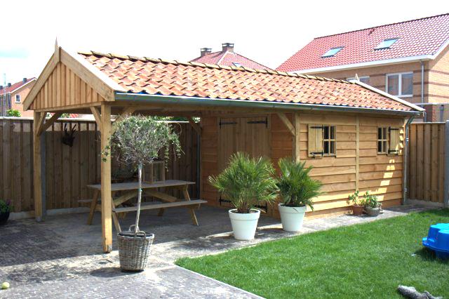 eikenhouten_bijgebouw_(4) - Eikenhouten bijgebouwen geheel op maat gemaakt.