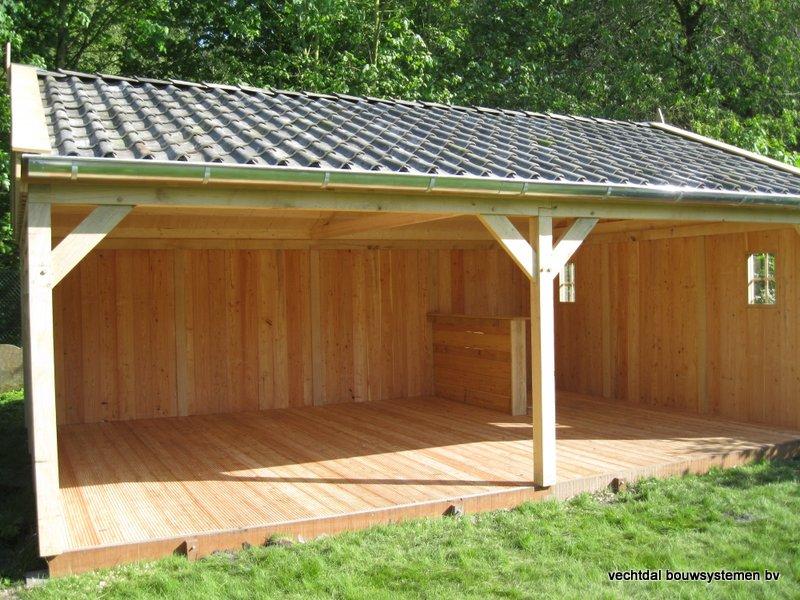 2-houten_veranda_heist_op_den_berg_(2) - Prachtige eikenhouten veranda opgeleverd in Heist op den Berg (België)