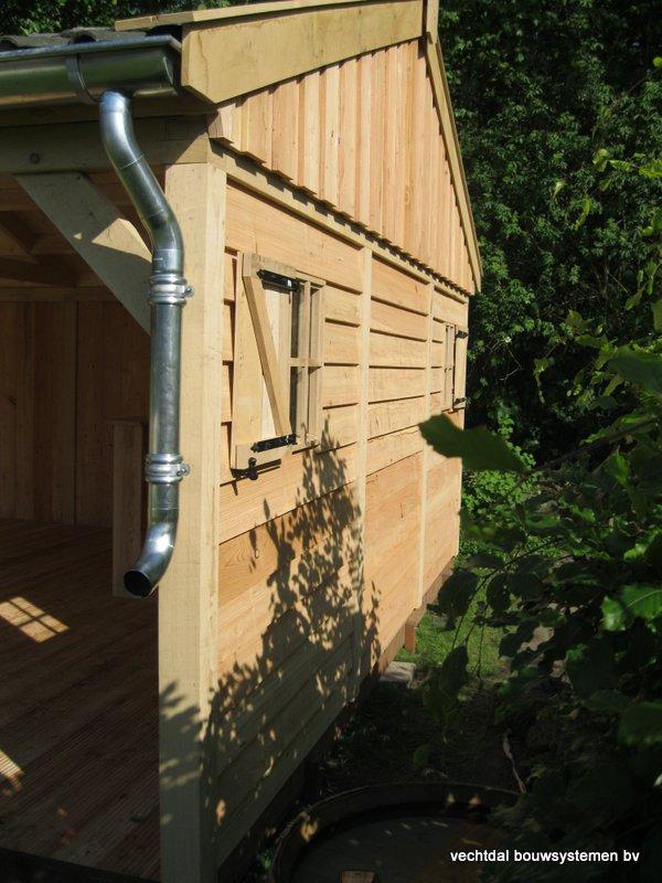 3-houten_veranda_heist_op_den_berg_(3) - Prachtige eikenhouten veranda opgeleverd in Heist op den Berg (België)