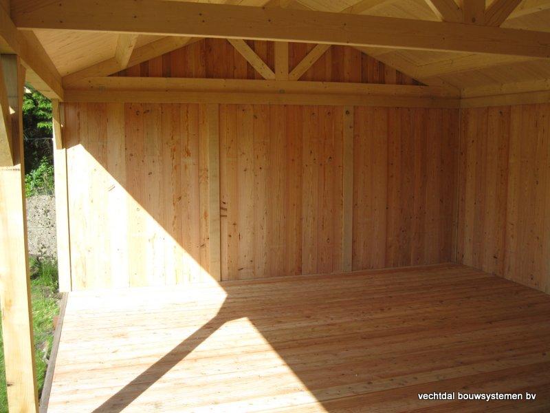4-houten_veranda_heist_op_den_berg_(4) - Prachtige eikenhouten veranda opgeleverd in Heist op den Berg (België)