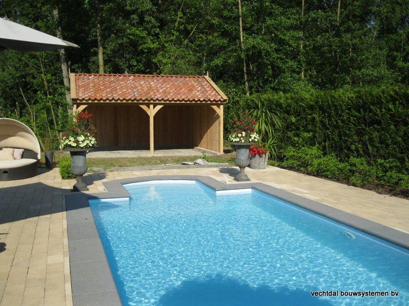 03-Eiken_houten_poolhouse_Belgie_(4) - Landelijk eikenhouten poolhouse gerealiseerd in Aarschot. (België)