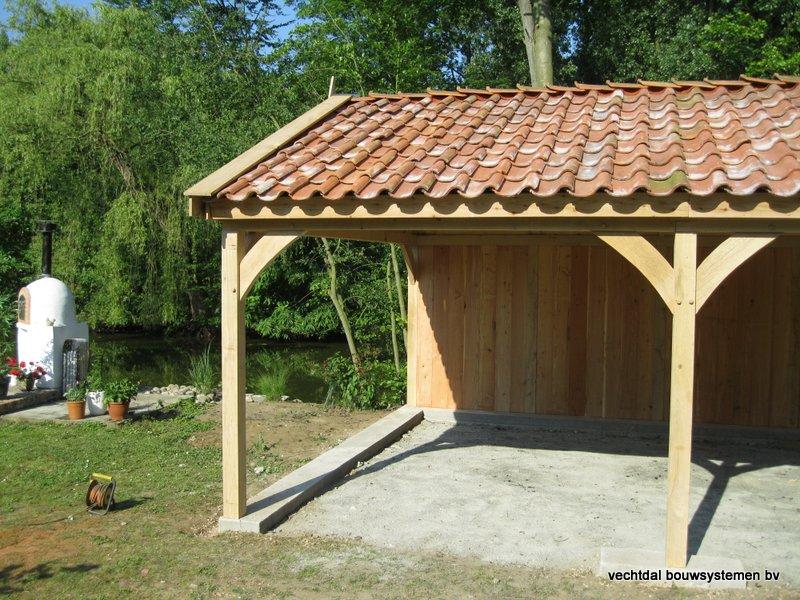 07-Eiken_houten_poolhouse_Belgie_(8) - Landelijk eikenhouten poolhouse gerealiseerd in Aarschot. (België)