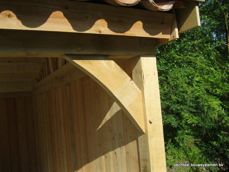 10-Eiken_houten_poolhouse_Belgie_(11) - Landelijk eikenhouten poolhouse gerealiseerd in Aarschot. (België)