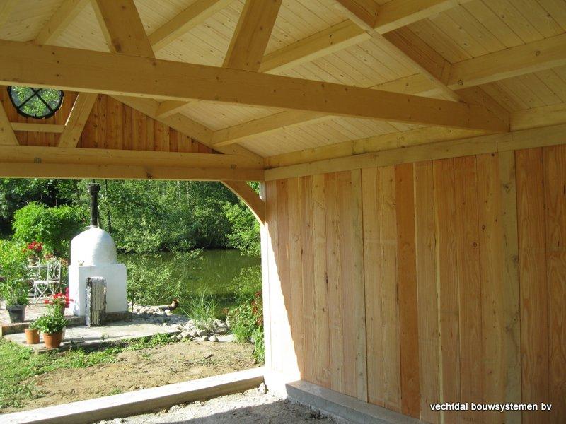 11-Eiken_houten_poolhouse_Belgie_(12) - Landelijk eikenhouten poolhouse gerealiseerd in Aarschot. (België)