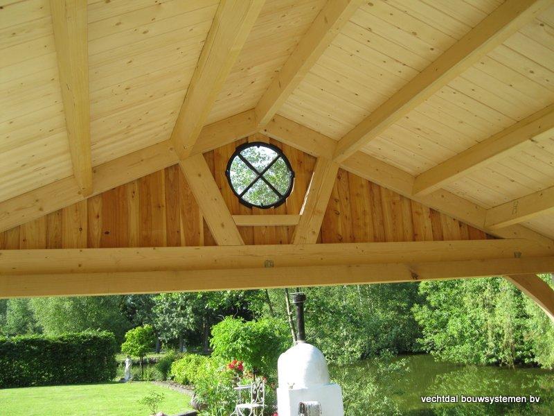 12-Eiken_houten_poolhouse_Belgie_(13) - Landelijk eikenhouten poolhouse gerealiseerd in Aarschot. (België)