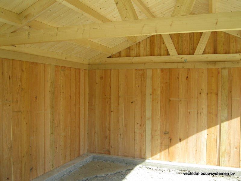 13-Eiken_houten_poolhouse_Belgie_(14) - Landelijk eikenhouten poolhouse gerealiseerd in Aarschot. (België)