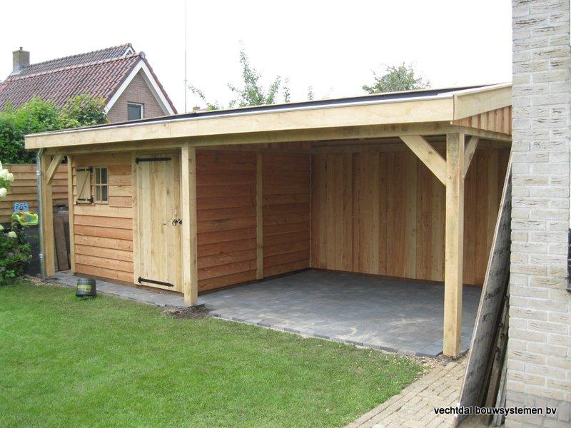 Garage Met Veranda : Koel schuur garage bouwen elegant van veranda met schuur large