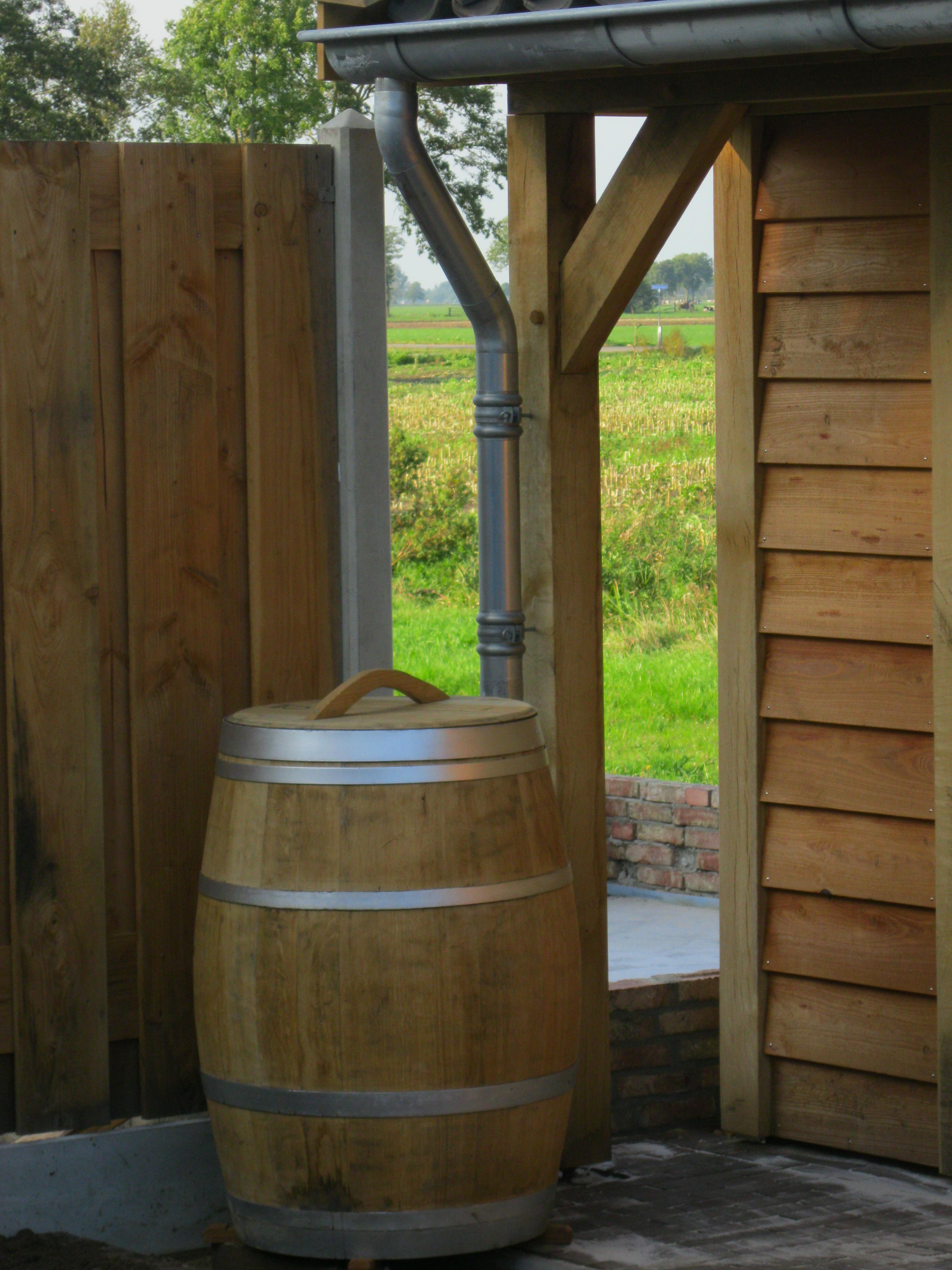 houten_tuinhuis_met_veranda_(16) - Eikenhouten tuinhuis met veranda als bouwpakket geleverd.