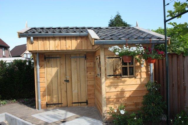 tuinhuisjes_3 - Stijlvolle eikenhouten tuinhuisjes op maat gemaakt.