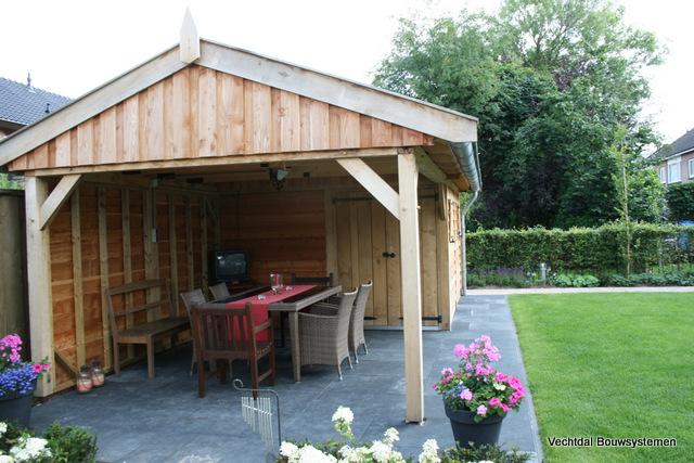 houten-tuinhuis-met-overkapping-2 - Tuinhuis met overkapping Excellent