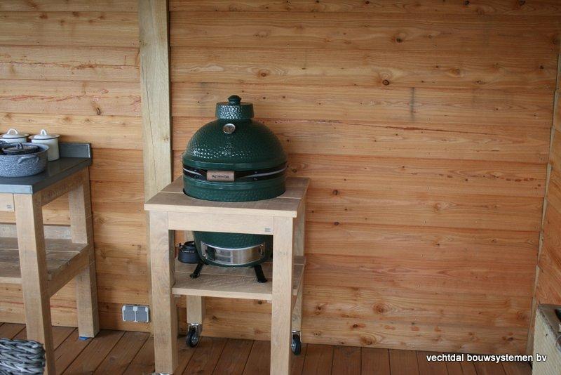 houten-overkapping-met-Groendak-19 - tuinhuis met tuinkamer 'groendak'