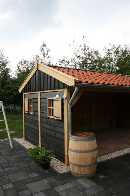 eiken-tuinkamer-3 - Tuinhuis met tuinkamer Excellent
